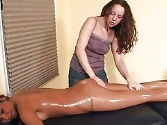 lesbian oil massage cireman
