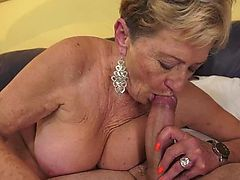 cumshot blondes blowjobs granny hairy