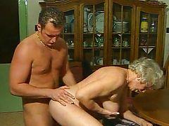 asian cumshot granny tits old