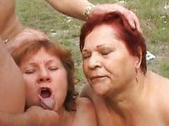 cumshot granny group sex matures outdoor