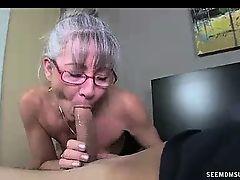 granny old+young pov blowjobs moms