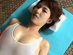 asian fingering massage big tits ass