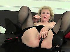 granny lingerie solo toys big tits