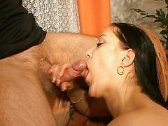 blowjobs brunette cumshot german matures