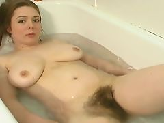 hairy redheads bath bush