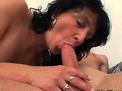 anal brunette cumshot old+young big tits