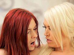 blondes lesbians dyke