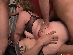 bbw gangbang group sex hardcore big tits