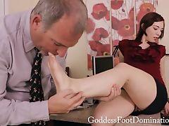 femdom foot footjob vegetables