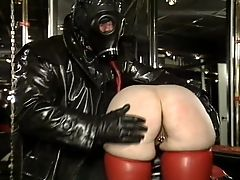amateur latex vintage rubber