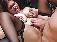 busty milf fucked black stockings