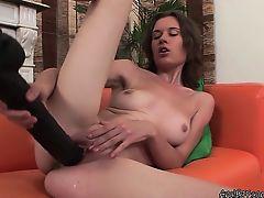 brunette fetish solo toys masturbate
