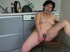brunette old+young toys babes granny