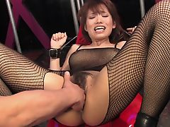 asian bdsm brunette bush busty