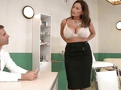 gyno exams big tits milf big-boobs blow-job