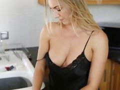 big tits pov kitchen babe big-tits