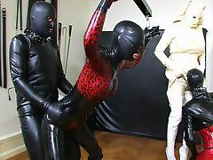 bdsm latex slave pussy bizarre