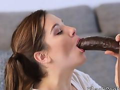 brunette hardcore interracial babes blowjobs