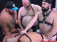 gays group sex bareback foursome