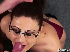 bukkake cumshot pov blowjobs facials