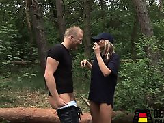 european german hardcore outdoor blondes