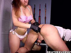 bdsm femdom bondage assfucked anal