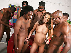 group sex interracial gangbang orgy big cock