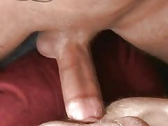 Submissive Johnny gets fucked - bareback